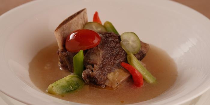 Sop Iga Garang Asam at Mezzanine Restaurant, Gading Serpong