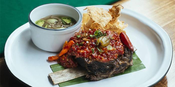 Spicy Food at Kayu Kayu Restaurant
