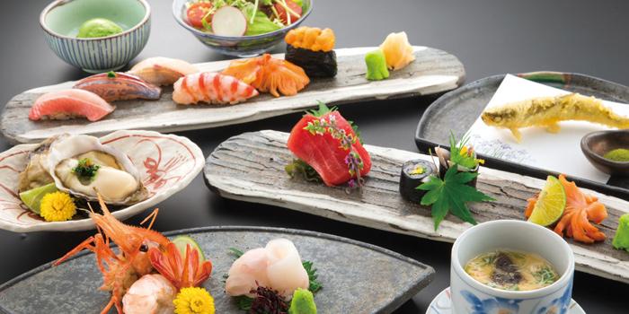 Sushi & Sashimi, Sakura Japanese Cuisine Restaurant, Central, Hong Kong