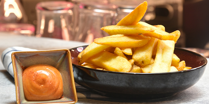 Thick Cut Fries from Mpire Restaurant & Bar in Telok Ayer, Singapore
