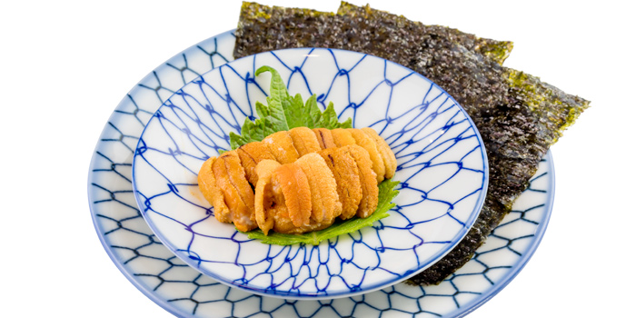 Uni from Take Japanese Restaurant in Cherngtalay, Phuket, Thailand