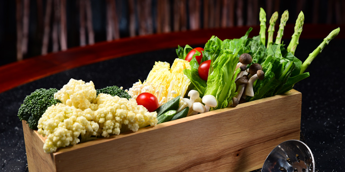 Vegetable, Taiwanese Hot Pot (Kyoto Plaza), Causeway Bay, Hong Kong