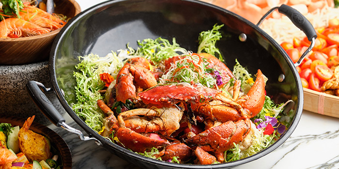 White Pepper Crab from Food Exchange at Novotel Singapore on Stevens in Tanglin, Singapore