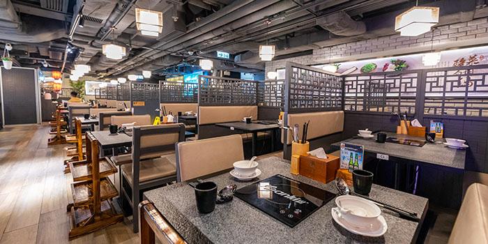 Interior, Taiwanese Hot Pot (Kyoto Plaza), Causeway Bay, Hong Kong