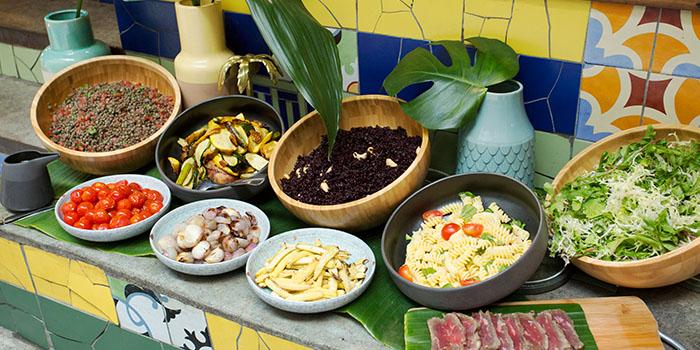 Lunch Salad, Uma Nota, Central, Hong Kong