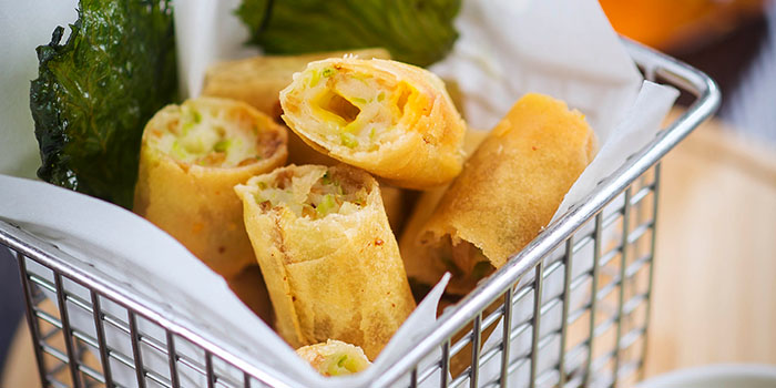 Spring Roll, The Night Market, Central, Hong Kong