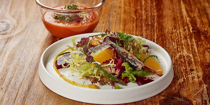 Sardine & Citrus Salad, Reserva Ibérica Tapas Bar & Café (Harbour City), Tsim Sha Tsui, Hong Kong