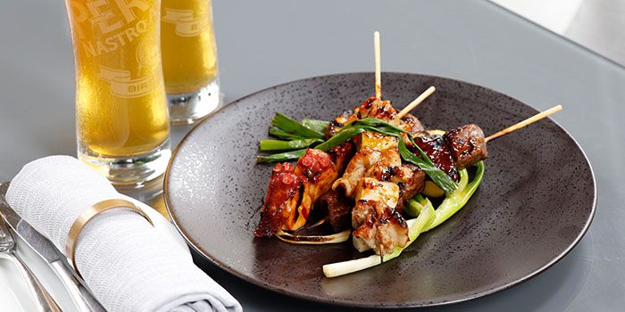 Skewers, Cotton Tree Terrace, Central, Hong Kong