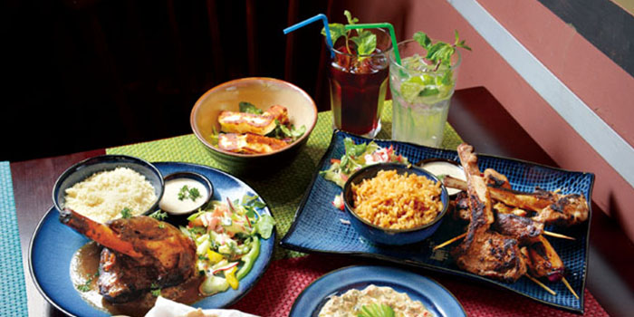 Mixture of Food, AZIZA, Kennedy Town, Hong Kong