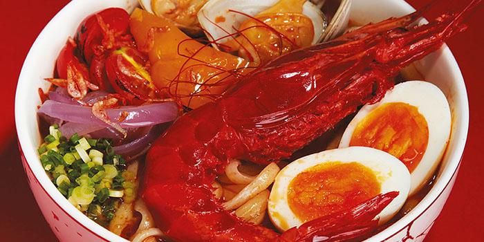 Red Prawn Noodle Soup, Reserva Ibérica Tapas Bar & Café (Causeway Bay), Causeway Bay, Hong Kong