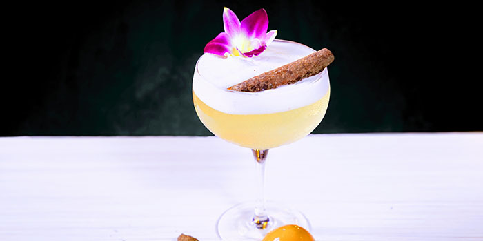 Cocktail with Cinnamon, ASH, Central, Hong Kong