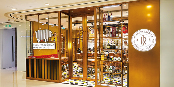 Shop Front, Reserva Ibérica Tapas Bar & Café (Harbour City), Tsim Sha Tsui, Hong Kong