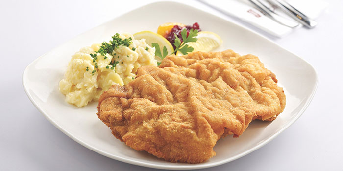 Veal Escalope, BROTZEIT German Bier Bar & Restaurant (YOHO Mall), Yuen Long, Hong Kong