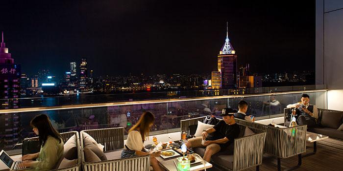 Outdoor Area, Zeng, Causeway Bay, Hong Kong