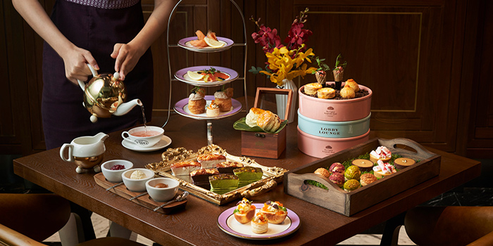 Afternoon Tea at 15 Stamford by Alvin Leung at The Capitol Kempinski Hotel in City Hall, Singapore