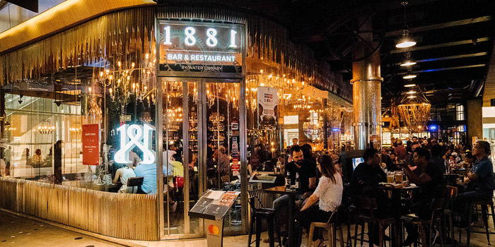 Ambience of 1881 by Water Library at Central World 999/9 Rama I Rd Pathumwan, Pathum Wan Bangkok