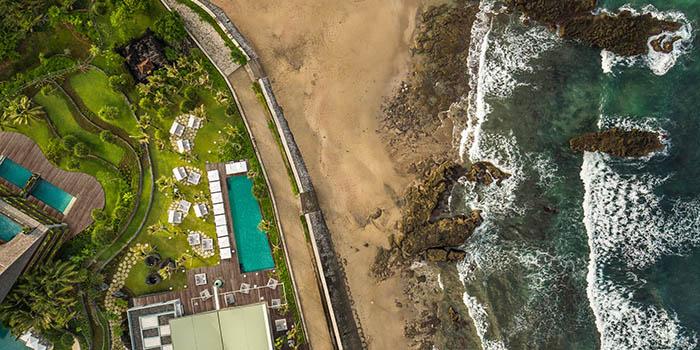 View from COMO Beach Club, Canggu, Bali
