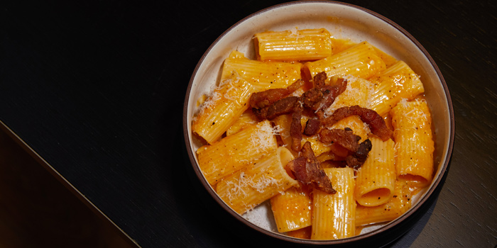 Carbonara Roman Style from 1919 Italian Bar & Restaurant at 10/15 Convent Road Silom, Bangrak Bangkok