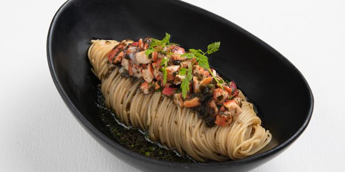 Cold Pasta from Water Library Brasserie @ Central Embassy atCentral Embassy 1031 Phloen Chit Rd Pathum Wan, Khet Pathum Wan Bangkok