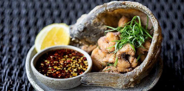Crispy Fish from Billy Ho, Canggu, Bali