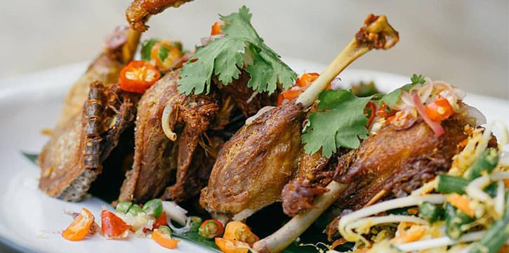Dish 6 at Kayu Kayu Restaurant
