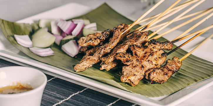 Satay Platter from TAP (Robertson Quay) in Robertson Quay, Singapore