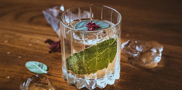 Drinks from Si Jin Steakhouse, Seminyak, Bali