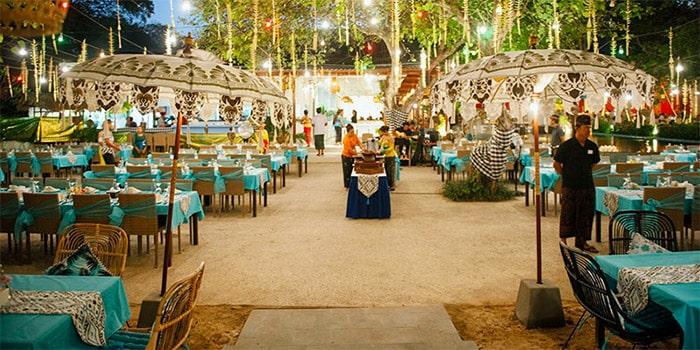 Interior from Kekeb Restaurant, Nusa Dua, Bali
