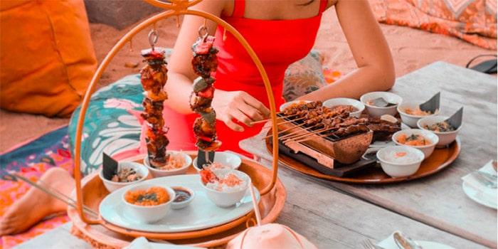 Food from Kekeb Restaurant, Nusa Dua, Bali