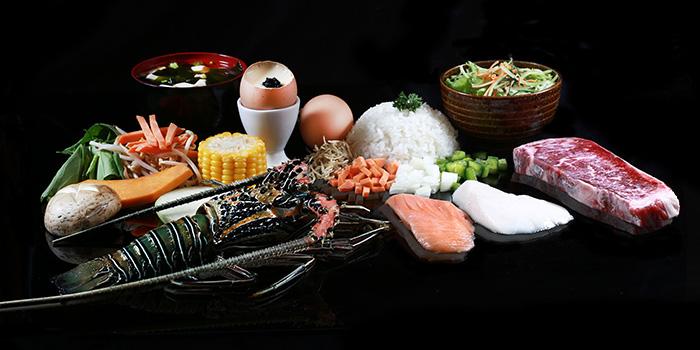 Food at Bluefin Japanese Fusion & Lounge, Kuta