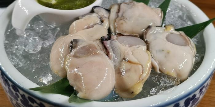 Fresh Japanese Oysters from Ryunabe Sathorn Bangkok at 71/1 Sathorn soi 10 Sathorn road, Bangrak Bangkok