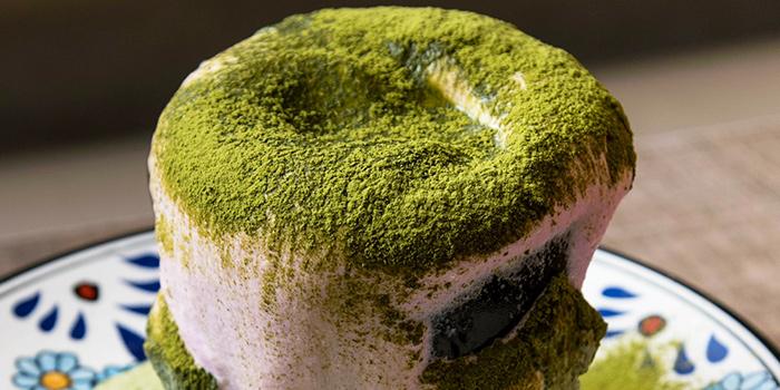 Sakura Matcha Latte from Benjamin Browns in Orchard, Singapore