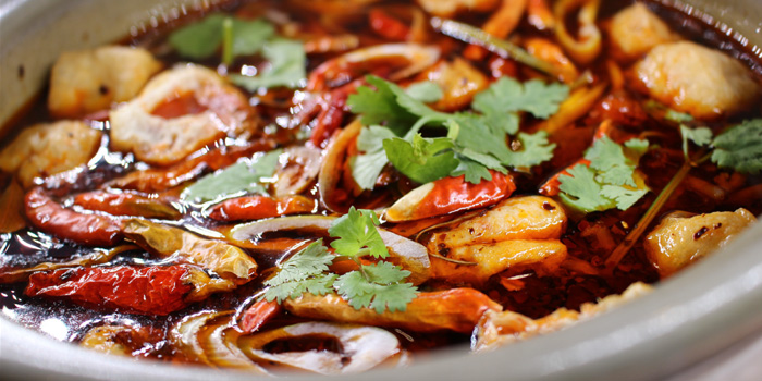 Sichaun Spicy Soup from Ryunabe Sathorn Bangkok at 71/1 Sathorn soi 10 Sathorn road, Bangrak Bangkok