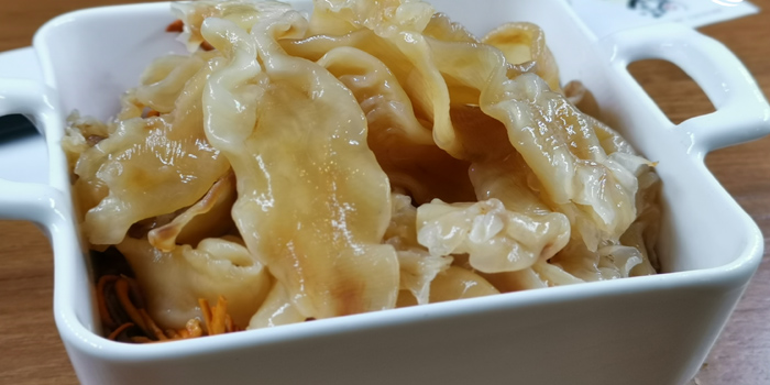 Traditional Dried Fish Maw from Ryunabe Sathorn Bangkok at 71/1 Sathorn soi 10 Sathorn road, Bangrak Bangkok