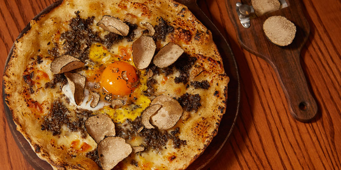 Truffle Pizza from 1919 Italian Bar & Restaurant at 10/15 Convent Road Silom, Bangrak Bangkok