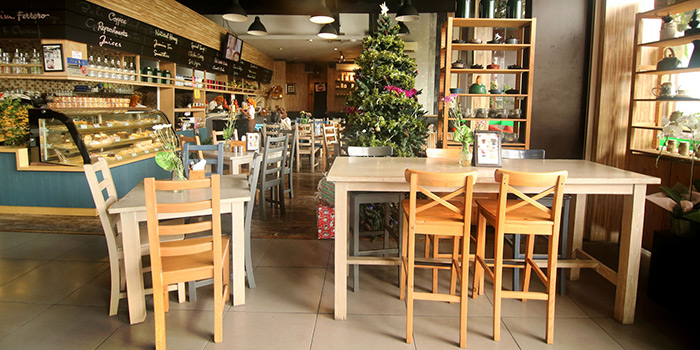Interior from Honey and Bread Cafe, Nusa Dua, Bali