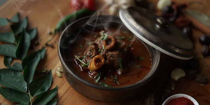 Food from Spice Mantraa, Seminyak, Bali
