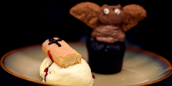 Halloween Mini Chocolate Bat Cake (1 Nov from KOMYUNITI at YOTEL Singapore in Orchard, Singapore