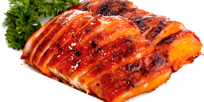 Honey Char Siew Chicken at Seafood House, Bali