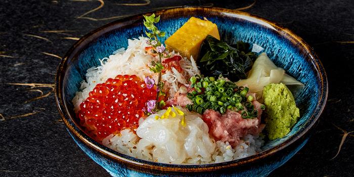 4 Types Sashimi on Rice, Sushi Kin, Causeway Bay, Hong Kong