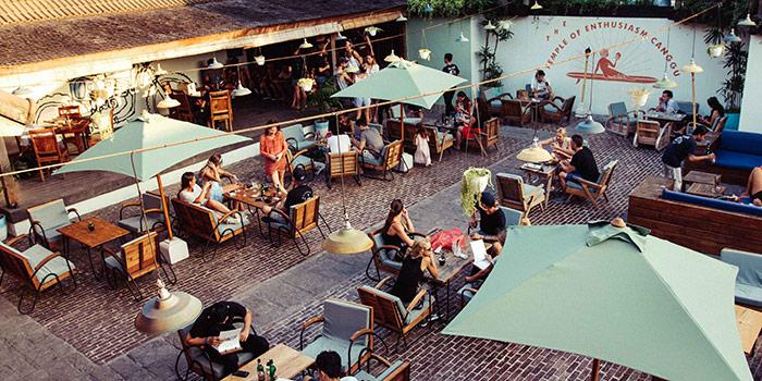 Vibe from Deus Cafe, Canggu, Bali