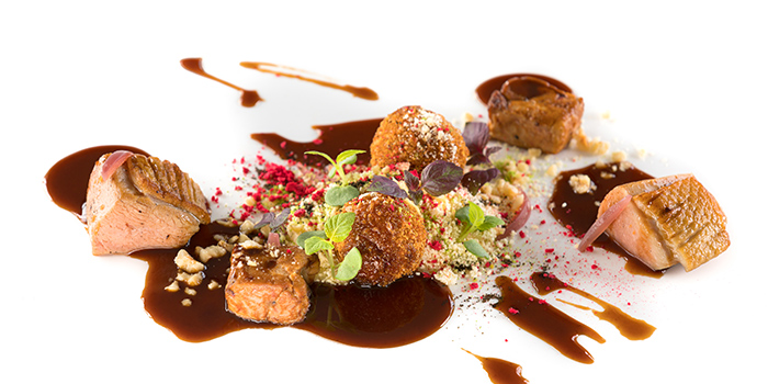 Anatra Arrosto Organic USA Duck Breast from il Cielo at Hilton Singapore in Orchard, Singapore