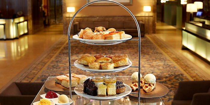 High Tea Set, Classic Style from Lobby Lounge & Bar at Holiday Inn Singapore Orchard City Centre in Orchard, Singapore