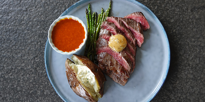 Angus Onglet Steak from Wildseed Grill & Bar at Seletar, Singapore