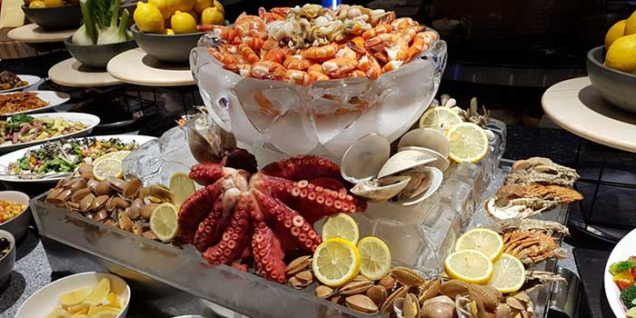 Seafood at Asia Restaurant