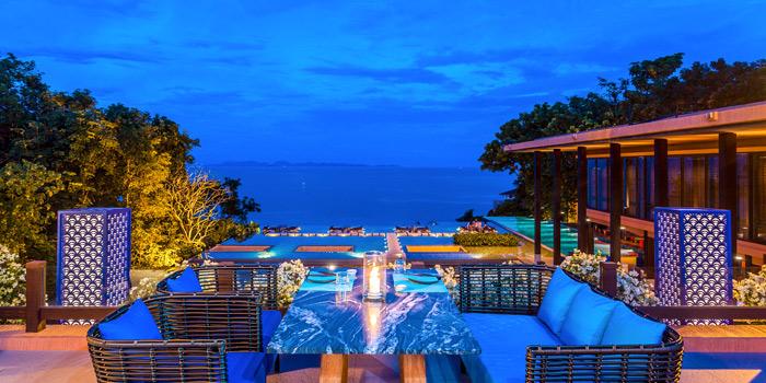 Logo of Baba Pool Club at Sripanwa Resort & Spa, Panwa Cape, Phuket Thailand