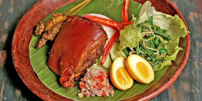 Food from Asian Spice Restaurant, Legian, Bali