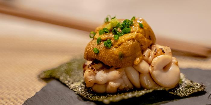 Bincho Grilled Milt With Bafun Uni from GAKE in Clarke Quay, Singapore