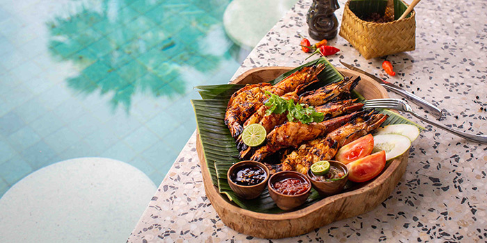 Food from Manarai Beach House, Nusa Dua, Bali