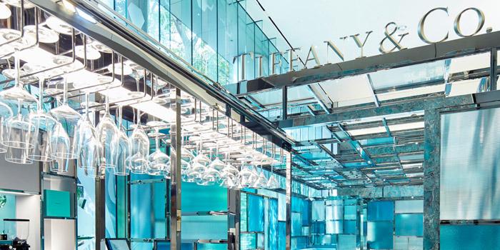 Ceiling, The Tiffany Blue Box Cafe, Tsim Sha Tsui, Hong Kong